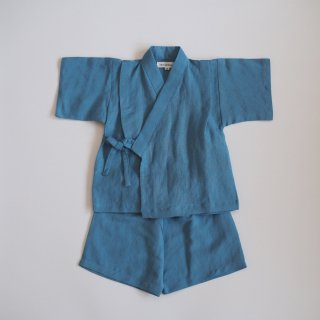 <img class='new_mark_img1' src='//img.shop-pro.jp/img/new/icons14.gif' style='border:none;display:inline;margin:0px;padding:0px;width:auto;' />linen jinbei separate / blue / chocolatesoup