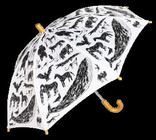animal umbrella with Tanaka Kentarou  / white / chocolatesoup