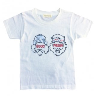【20%off】 good friends T-Shirt / white / Soulsmania