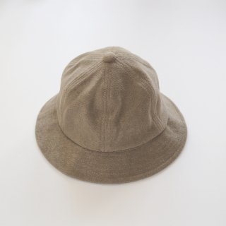 soft pile hat / gray / chocolatesoup
