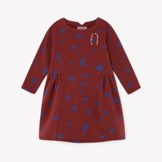 all over stuff fleece dress / BOBO CHOSES