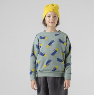 all over a star called home sweatshirt / BOBO CHOSES