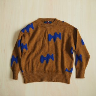 raven kids sweater / sand / The Animals Observatory