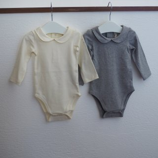 baby collar onesie / GRAY LABEL