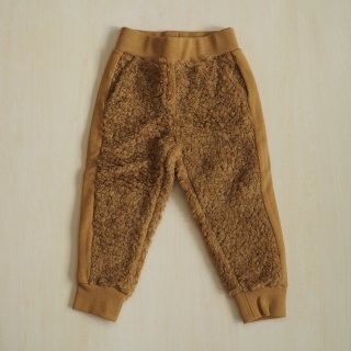 <img class='new_mark_img1' src='//img.shop-pro.jp/img/new/icons34.gif' style='border:none;display:inline;margin:0px;padding:0px;width:auto;' />【10%off】track pant / caramel fur / wynken (2y,4y,6y,8y,10y)