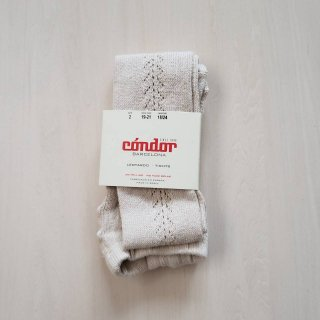 Condor<br>side openwork tights<br>linen(0,2,4,6)