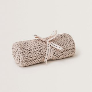 breighe croshet cottonwool blanket / garbo&friends