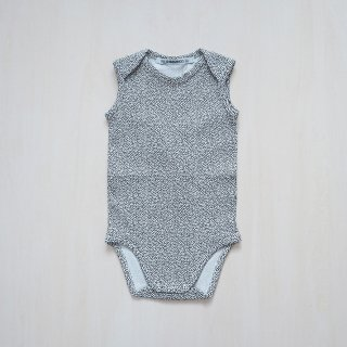MINGO<br>bodysuit sleeveless basics<br>dots (1/2-1y,1-2y)