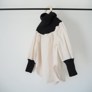 folkmade<br>warm neck pullover<br>chacoal gray<br>(S,M,L,LL)