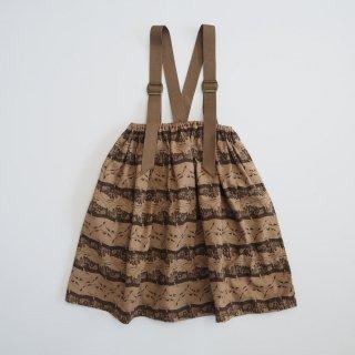 eLfinFolk<br>castle printed skirt<br>beige(90,110,130)
