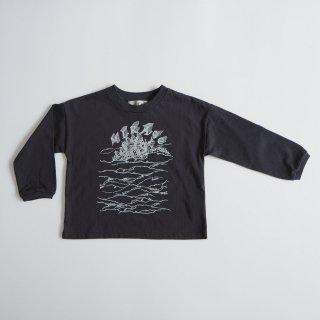 eLfinFolk<br>MIRAgE town long sleeve-T<br>charcoal(90,100,110,120,130)