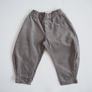 nunuforme<br>hem tuck curve pants<br>gray<br>(95,105,115,125)