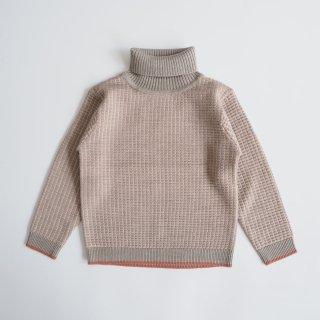 FUB<br>structure sweater<br>beige melange<br>(100,110,120)