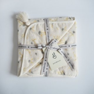 garbo&friends<br>baby hooded towel<br>mimosa