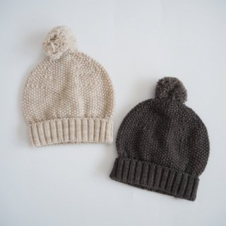 1+in the family<br>beanie<br>beige / terrau(12m,24m)
