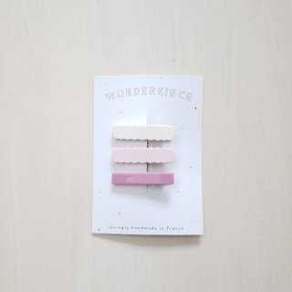 Wunderkin Co.<br>hair clips<br>3pcs set (1type)