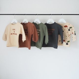 organic zoo<br>sweatshits<br>5colors(6-12m,1-2y,2-3y,3-4y)