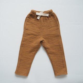 LiiLU<br>quilted pants<br>camel(2y,4y,6y,8y)