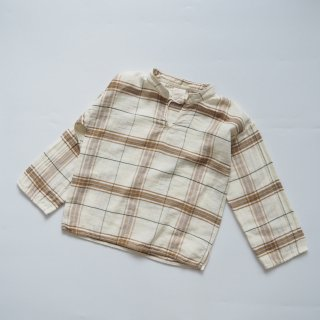 LiiLU<br>lenni shirt<br>chenille check(2y,4y,6y,8y)