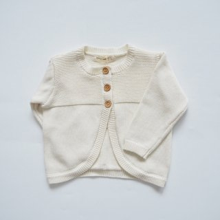 <img class='new_mark_img1' src='https://img.shop-pro.jp/img/new/icons14.gif' style='border:none;display:inline;margin:0px;padding:0px;width:auto;' />QUINCY MAE Drop1<br>knit cardigan<br>ivory(6-12m,12-18m,18-24m,2-3y)