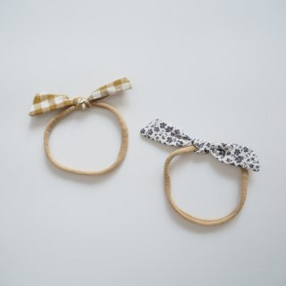 Rylee + Cru Drop2<br>knot headband<br>2color(one size)