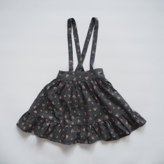 <img class='new_mark_img1' src='https://img.shop-pro.jp/img/new/icons14.gif' style='border:none;display:inline;margin:0px;padding:0px;width:auto;' />tocoto vintage<br>flower print midi skirt<br>dark<br>(2y,3y,4y,6y)