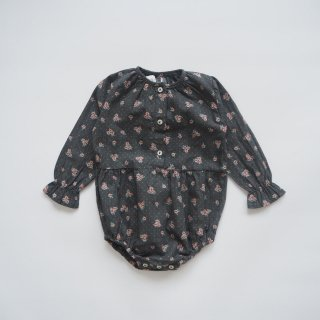<img class='new_mark_img1' src='https://img.shop-pro.jp/img/new/icons14.gif' style='border:none;display:inline;margin:0px;padding:0px;width:auto;' />tocoto vintage<br>flower print button up body<br>dark(12m,18m,2y)