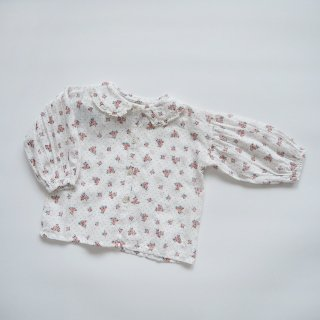 <img class='new_mark_img1' src='https://img.shop-pro.jp/img/new/icons14.gif' style='border:none;display:inline;margin:0px;padding:0px;width:auto;' />tocoto vintage<br>flower print blouse<br>off-white(12m,18m,2y)