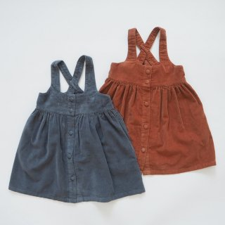 <img class='new_mark_img1' src='https://img.shop-pro.jp/img/new/icons14.gif' style='border:none;display:inline;margin:0px;padding:0px;width:auto;' />little cotton clothes<br>dorcas pinafore<br>blue / clay<br>(2-3y,3-4y,4-5y,5-6y)