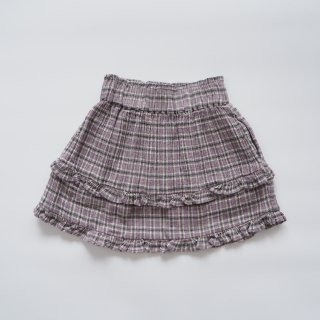 <img class='new_mark_img1' src='https://img.shop-pro.jp/img/new/icons14.gif' style='border:none;display:inline;margin:0px;padding:0px;width:auto;' />the new society<br>bella skirt<br>check lavenda<br>(4y,6y,8y)
