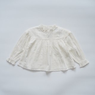 <img class='new_mark_img1' src='https://img.shop-pro.jp/img/new/icons14.gif' style='border:none;display:inline;margin:0px;padding:0px;width:auto;' />the new society<br>lurex blouse<br>off white<br>(4y,6y,8y)