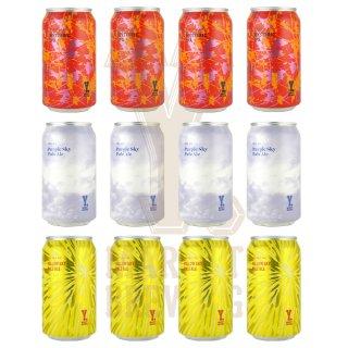 Y.MARKET定番ビール詰め合わせ宅飲みセット 3種各4缶 12缶