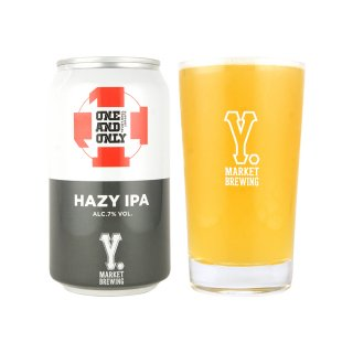 Y.MARKET  ONE AND ONLY  HAZY IPA ワイマーケット ワンアンドオンリー ヘイジーIPA