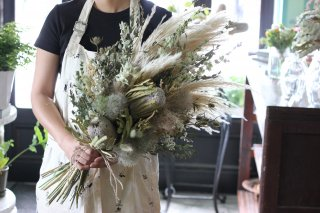 Dried and preserved bouquet
