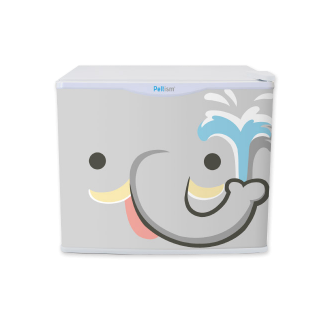 フリフリッジZOO ゾウ 17リットル型小型冷蔵庫