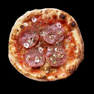 冷凍ピザ ピザ山 「サラミ山」(サラミのピザ)