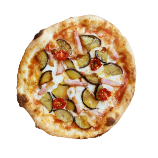 冷凍ピザ ピザ山 「なすび山」 (ナスとベーコンのピザ)