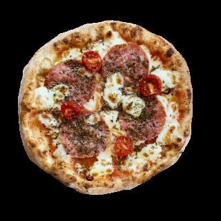 冷凍ピザ ピザ山 「山頂のサラミ」(サラミのプレミアムピザ)