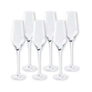 【2021年1月入荷予定】 ワイングラスセット ヴェガ  フルートシャンパーニュ 6脚