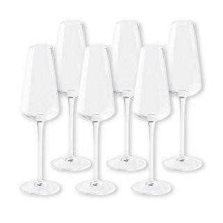 【2021年1月入荷予定】 ワイングラスセット アンタレス フルートシャンパーニュ ホワイトワイン 6脚