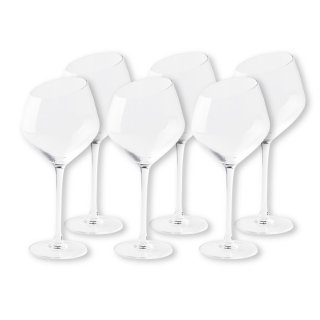 【2021年1月入荷予定】 ワイングラスセット ミラ  レッドワイン 6脚
