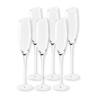 【2021年2月入荷予定】 ワイングラスセット ミラ  フルートシャンパーニュ 6脚