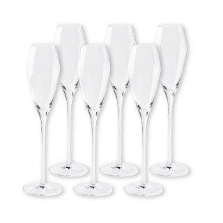 【2021年2月入荷予定】 ワイングラスセット カシオペア・シェダル フルートシャンパーニュ 6脚