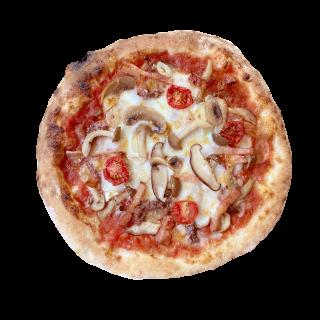 冷凍ピザ「山頂のキノコ」(3種のキノコのプレミアムピザ)