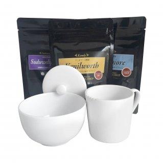 紅茶3種(30g)+テイスティングカップ ギフトセット
