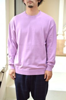 【セール30%off】SUVIN L/S CREW NECK KNIT/GU191-80064*KN#GH*