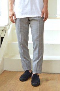 【セール50%off】OUT 2TUCK TAPERED DRESS PANTS/C191200*PT#GH*