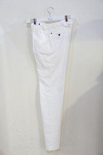 【セール30%off】ラルディーニ ホワイトコーデュロイワンタックテーパードパンツ/LA-SOH020*PT#MC*