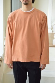 【セール40%off】Flutter Tail Buck Side Tucked Crewneck/WM20SCS06*CL#GH*