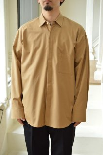 FLY FRONT SLEEVE OVERSIZED SHIRT/ST143*SL#GH*